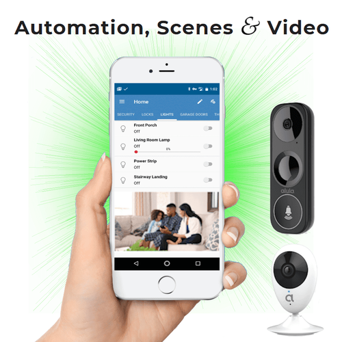 DSC DiY WiFi Home Alarm Monitoring and Video Surveillance Service (Powered by Alula)