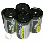 EN95 - D Cell 1.5V Alkaline Alarm Battery (4-Pack)