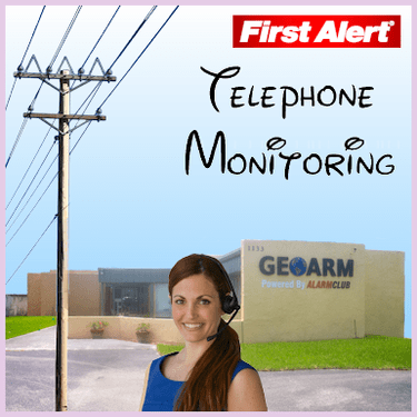 First Alert Phone Line Alarm Monitoring Service