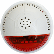 SSA2 - Fortrezz Z-Wave Wireless Alarm Siren Strobe (w/Red Lense)