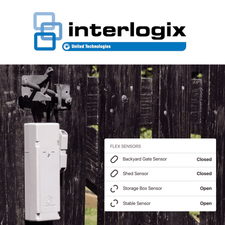 GE Interlogix Standalone Remote Property Sensor Cellular LTE Monitoring Services