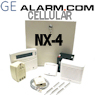 GE Interlogix NetworX NX-4 Cellular GSM Security System
