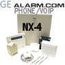 GE Interlogix NetworX NX-4 Phone Line & VoIP Security System