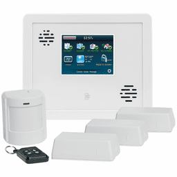 GE Interlogix Simon XTi Phone/VoIP-Line Wireless Security System Kit