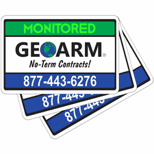 GeoArm® Security Stickers (3-Pack)