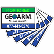 GeoArm� Security Stickers (5-Pack)