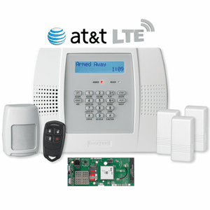 Honeywell LYNX Plus L3000 Cellular AT&T LTE Wireless Security System