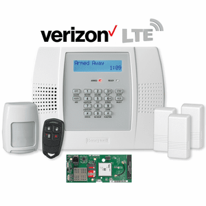 Honeywell LYNX Plus L3000 Cellular Verizon LTE Wireless Security System