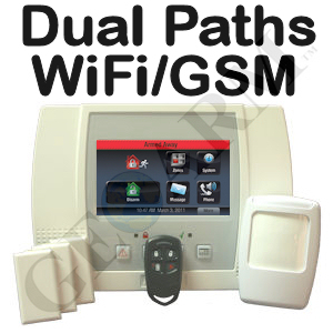 Honeywell LYNX Touch L5100 Dual-Path (WiFi & GSM) Wireless Security System