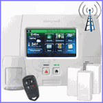 Honeywell LYNX Touch L5200 Cellular 3G GSM Wireless Security System