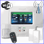 Honeywell LYNX Touch L5200 Dual-Path Wireless Security System