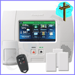 Honeywell LYNX Touch L5200 Phone Line & VoIP Wireless Security System