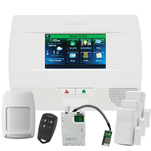 Honeywell LYNX Touch L5210 Broadband Internet Wireless Security System