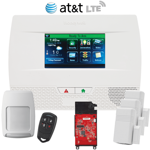 Honeywell LYNX Touch L5210 Cellular AT&T LTE Wireless Security System