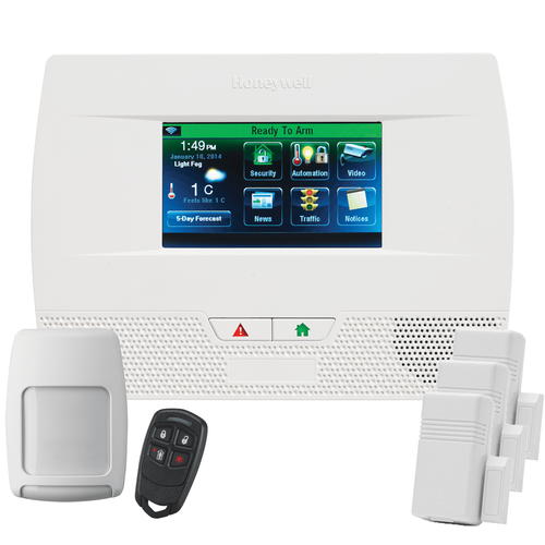 Honeywell LYNX Touch L5210 Phone Line & VoIP Wireless Security System