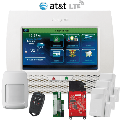 Honeywell LYNX Touch L7000 Dual-Path (WiFi & AT&T LTE) Wireless Security System