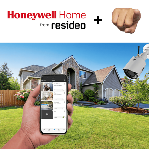 Honeywell Residential Home Video Surveillance Services