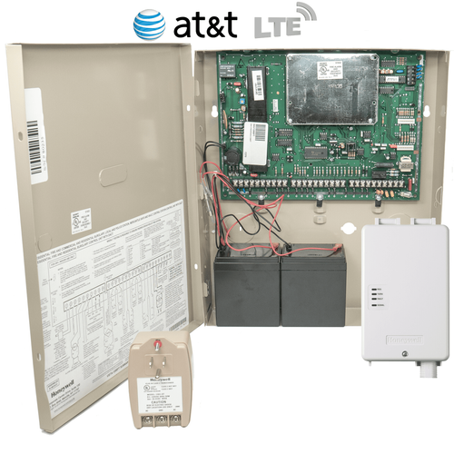 Honeywell VISTA 128BPT Cellular AT&T LTE Hardwired Commercial Security System