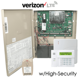Honeywell VISTA 128BPT Cellular Verizon LTE Hybrid Commercial Security System (w/High-Security Communicator)