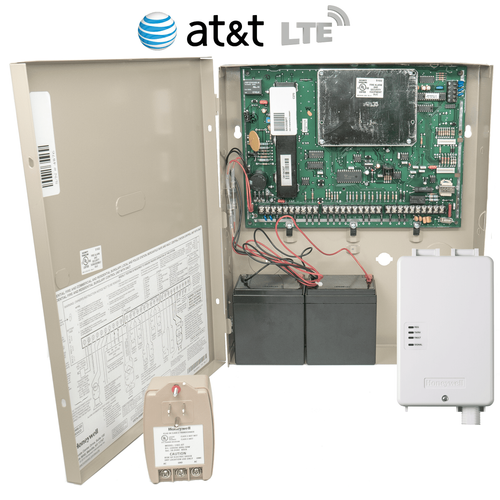 Honeywell VISTA 250BPT Cellular AT&T LTE Hardwired Commercial Security System