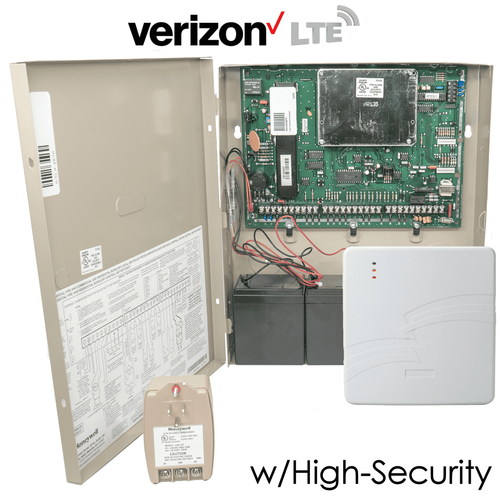 Honeywell VISTA 250BPT Cellular Verizon LTE Hardwired Commercial Security System (w/High-Security Communicator)