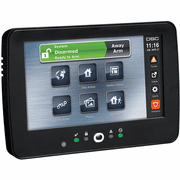 HS2TCHP-B - DSC PowerG TouchScreen Black Alarm Keypad w/Prox Support (for PowerSeries Neo Control Panels)