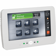 HS2TCHP - DSC PowerG TouchScreen White Alarm Keypad w/Prox Support (for PowerSeries Neo Control Panels)
