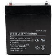 IM-1240 - 12V 4.5AH Sealed Lead Acid Alarm Battery