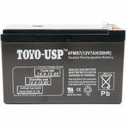 IM-1270 - 12V 7AH Sealed Lead Acid Alarm Battery