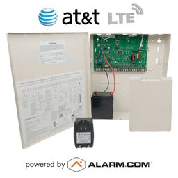 GE Interlogix Concord 4 Cellular AT&T LTE Hybrid Security System Kit (Powered by Alarm.com)
