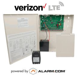 GE Interlogix Concord 4 Cellular Verizon LTE Hybrid Security System Kit (Powered by Alarm.com)
