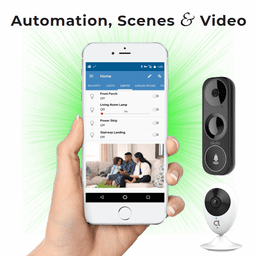 GE Interlogix DiY Dual-Path Home Alarm Monitoring and Video Surveillance Service (Powered by Alula)