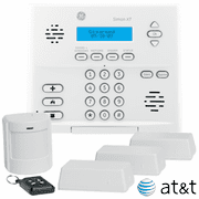 GE Interlogix Simon XT Cellular AT&T LTE Wireless Security System Kit (Powered by Alarm.com)