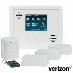 GE Interlogix Simon XTi Cellular Verizon LTE Wireless Security System Kit (Powered by Alarm.com)