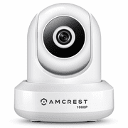 IP2M-841W - Amcrest Indoor Wireless 1080p HD Pan/Tilt Security Camera