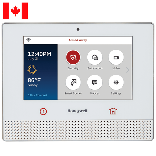 LCP500-LC - Resideo Honeywell Home Lyric Controller Wireless Touchscreen Alarm Control Panel (for Canada)