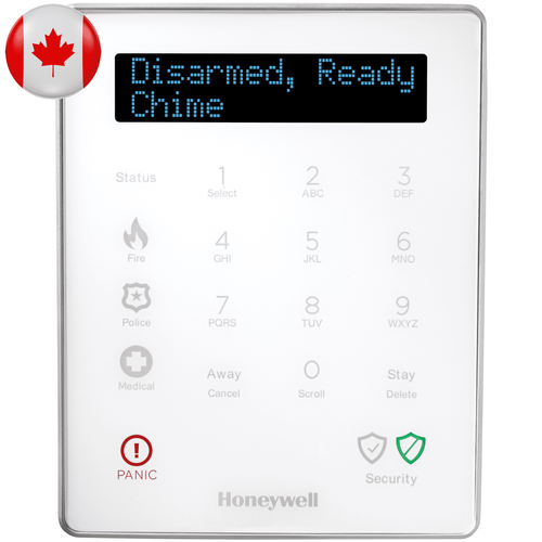 LKP500-ENC - Honeywell Lyric Wireless Alarm Keypad (for Lyric Controller Canada)