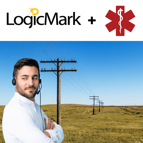 LogicMark Medical Alert PERS Phone Line Monitoring Services