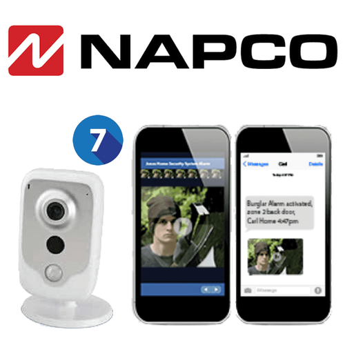 Napco Residential Home Video Surveillance Services (Up to 7 Cameras)