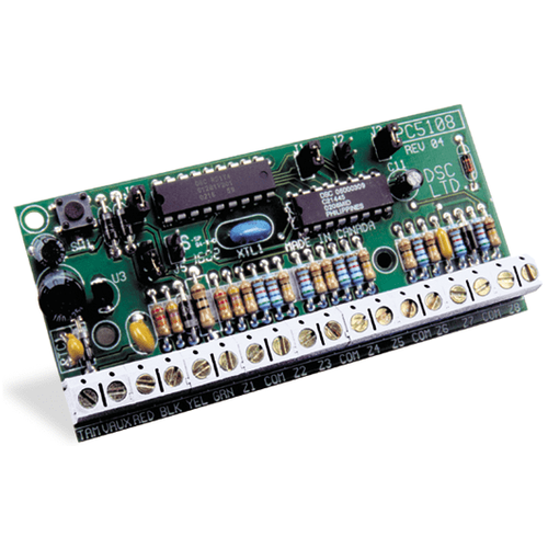 PC5108 - DSC Hardwired 8-Zone Alarm Expander (for PowerSeries Control Panels)