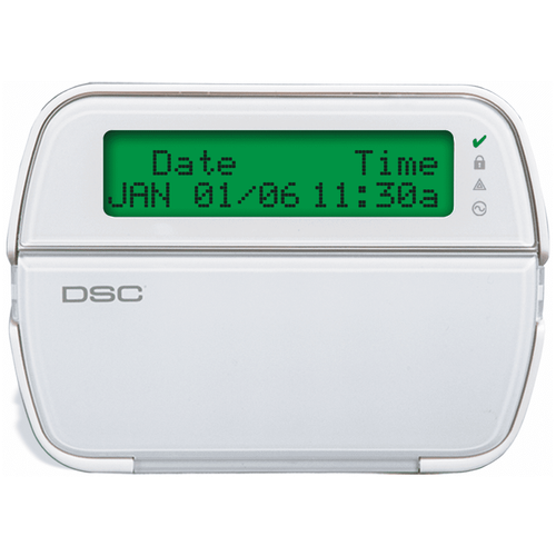 PK5500ENG - DSC LCD Full-Message Hardwired Alarm Keypad (w/64-Zones)