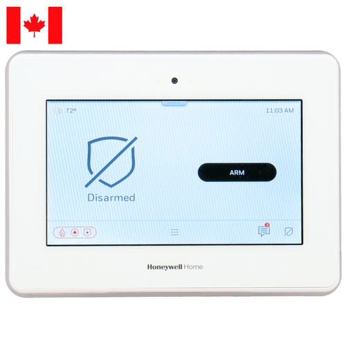 PROA7PLUSCN - Resideo Honeywell Home ProSeries Wireless Touchscreen Control Panel (for Canada)