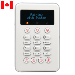 PROSiXLCDKCN - Resideo Honeywell Home Wireless Touchpad Alarm Keypad (for ProSeries Canada Control Panels)