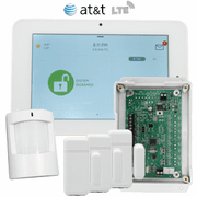 QK9202-AD0C-840-HBD - Qolsys IQ Panel 2 Hybrid Security System for AT&T LTE (3-1 Kit)