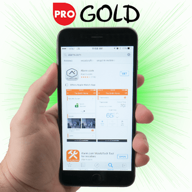 Qolsys Commercial Cellular Gold Level Alarm Monitoring Services (Powered by Alarm.com)