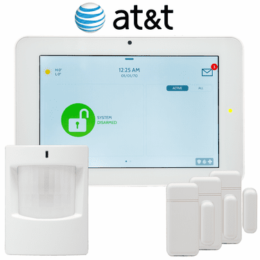 QK9202-AD0C-840 - Qolsys IQ Panel 2 Wireless Celllar AT&T LTE Security System (3-1 Kit)