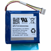 QR0041-840 - Qolsys IQ Replacement Alarm Battery (for IQ Panel 2 and 2 Plus)