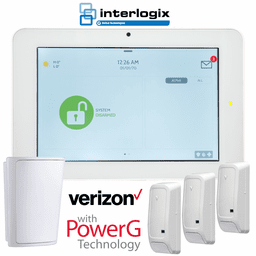 QS9201-1208-840-KIT - Qolsys IQ Panel 2+ Wireless Security System for Interlogix Verizon LTE (3-1 Kit)