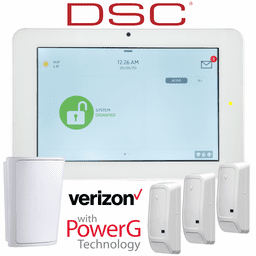 QS9201-4208-840-KIT - Qolsys IQ Panel 2+ Wireless Security System for DSC Verizon LTE (3-1 Kit)