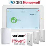 QS9201-5208-840-KIT - Qolsys IQ Panel 2+ Wireless Security System for 2GIG/Honeywell Verizon LTE (3-1 Kit)